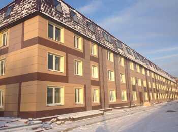 Вид на комплекс зимой